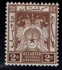 MALAYA Kelantan Scott 16 MH* wmk 4