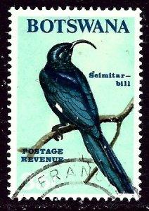 Botswana 29 Used 1967 Bird    (ap5575)