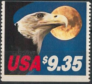 56863 -  USA - STAMP :  NICE STAMP very OFF CENTER PRINTING - EAGLE $ 9.35