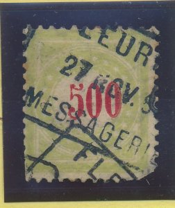 Switzerland Stamp Scott #J28a, Used, Faults - Free U.S. Shipping, Free Worldw...