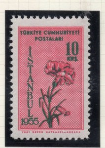 Turkey 1955 Early Issue Fine Mint Hinged 10k. NW-18217
