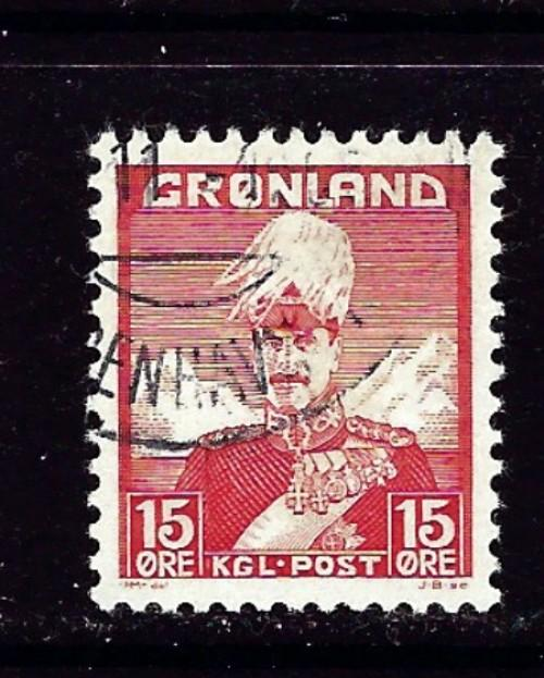 Greenland 5 Used 1938 issue