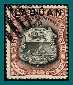 Labuan 1897 Arms, p14, cancelled  #78,SG93