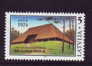 Latvia Sc 361 1994 Ethnographic Museum stamp mint NH