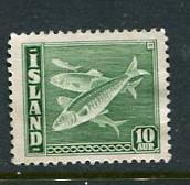 Iceland #221 Mint No Gum