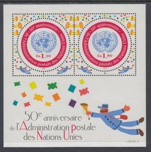 UN Geneva 379 Souvenir Sheet MNH VF