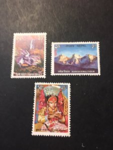 Nepal sc 308-310 MNH