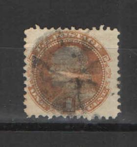 US 1869 Sc# 112 Used NH VF- SOTN Fancy cancel