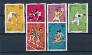 [56205] Romania 1988 Olympic Games Seoul Gymnastics Boxing Tennis Judo MNH