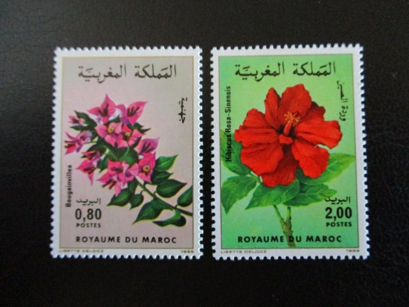 Morocco #602-03 Mint Never Hinged (F7D8) I Combine Shipping!