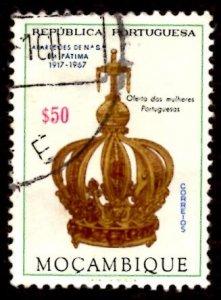 Mozambique 1967 Virgin's Crown, Virgin Mary, Fatima 50c Scott.480 Used (#7)