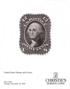 United States Stamps and Covers, Christie's Robson Lowe 7602