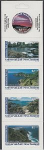 NEW ZEALAND Universal Mail $10 International Mail Booklet - Coastal Sunrise.R521