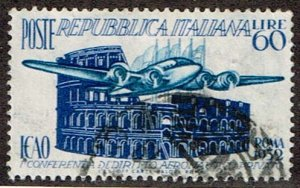Italy # 611  Used