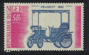 Niger Peugeot 1892 Motorcar 50f 1975 MNH SG#575