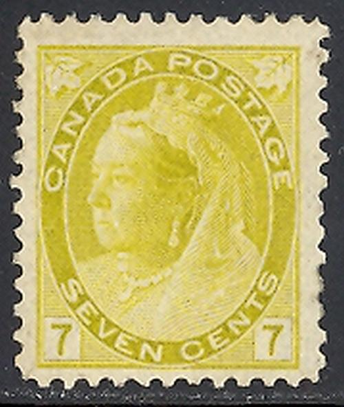 Canada  #81 Mint   VF -  Lakeshore Philatelics  LSP81b