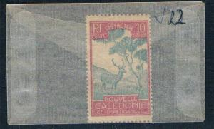 New Caledonia J22 Unused Malayan Sambar (N0565)