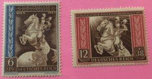 Germany B210-11 MNH Horse & rider, SCV $2.85
