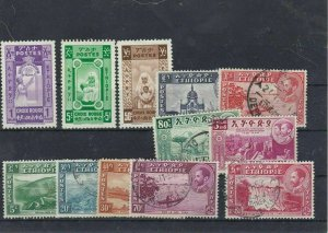 Ethiopia Mounted Mint And Used Stamps Ref: R5611