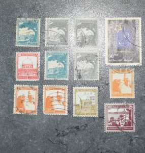 PALASTINE  Stamps   stock page   1927  ~~L@@K~~
