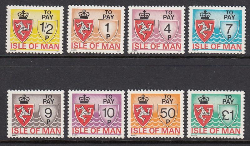 Isle of Man J9-16 mnh