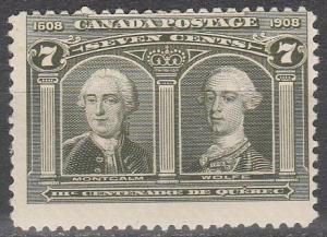 Canada #100 MNH  CV $400.00  (S7411)