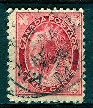 Canada; 1898: Sc. # 69: O/Used Single Stamp