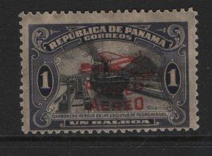 PANAMA  C6  MNH THIN   RED OVERPRINT 1930