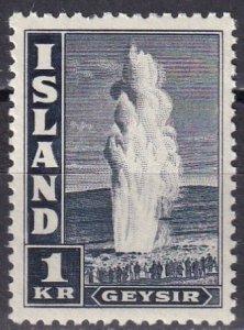 Iceland #208Bd MNH CV $7.50  (Z6423)
