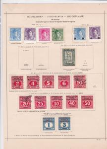 bosnia + herzegovina 1918 stamps page ref 17471