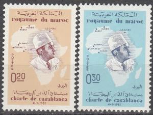 Morocco #58-9 MNH F-VF   (SU2984)