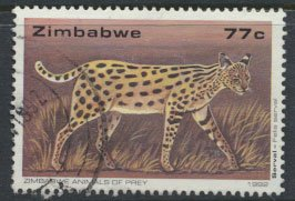 Zimbabwe SG 825  SC# 657  Used Big Cats  see detail and scan