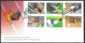 New Zealand First Day Cover [7792]