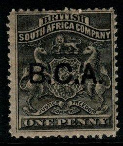 NYASALAND SG1 1891 1d BLACK MTD MINT