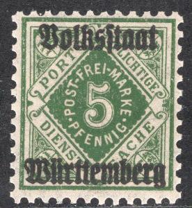 WURTTEMBERG SCOTT O45