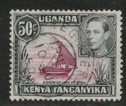 Kenya Uganda and Tanganyika KUT Scott 79 Used perf 13x12.5