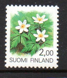 Finland Sc 829 1990 2.0 Wood Anemone stamp mint NH