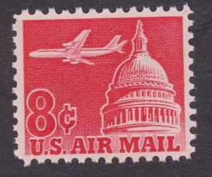C64 Jet over Capitol MNH single