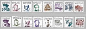 Micronesia 5-20 1984 Definitives set MNH