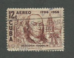 1956 Cuba Scott Catalog Number C150 Used