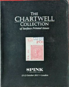 Auction Catalogue Chartwell GREAT BRITAIN SURFACE PRINTED ISSUES - 1163 Lots!
