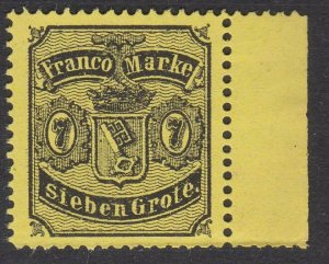 BREMEN GERMANY - an old forgery of a classic stamp - .......................C124