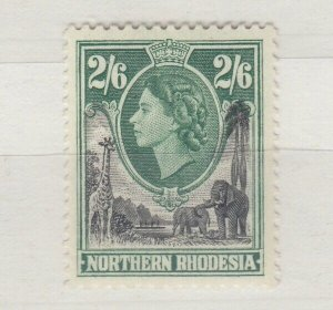 Northern Rhodesia QEII 1953 2s 6d SG71 MNH J9645