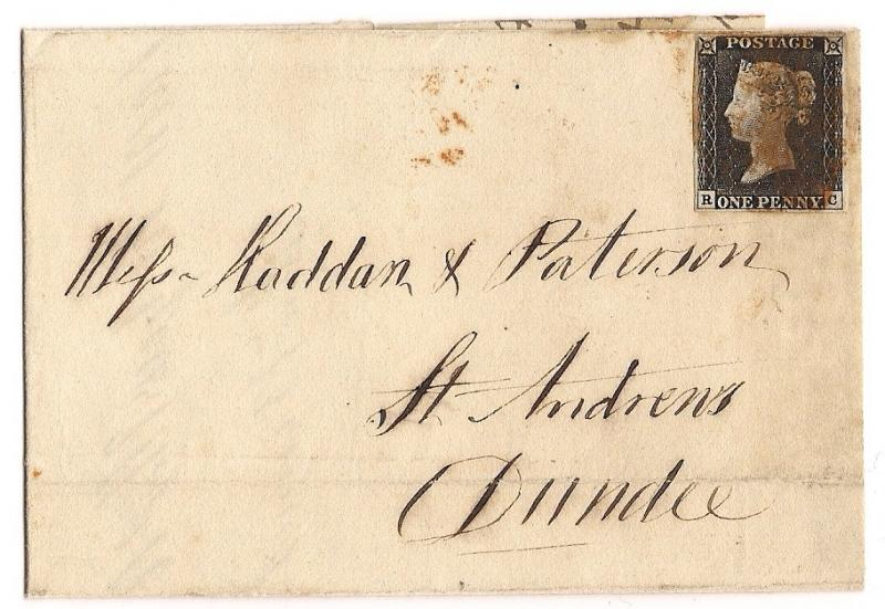 ST. ANDREWS HISTORICAL COVER - Great Britain #1 On Cover