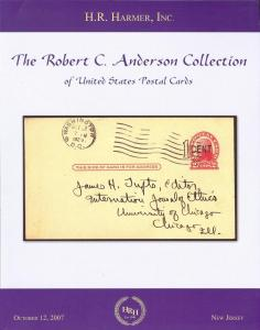 HR Harmer: Sale # 2980  -  The Robert C. Anderson Collect...