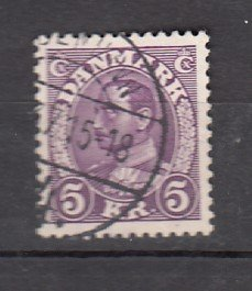 J26071  jlstamps 1934-41 denmark hv of set used #243 king