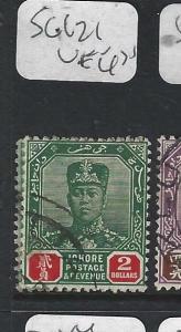 MALAYA JOHORE  (PP0302B)   SULTAN  $2.00  SG 121  VFU