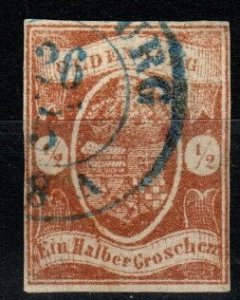 Oldenburg #12  F-VF Used  CV $525.00 (X1265)