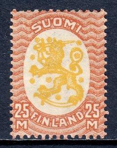 Finland - Scott #140 - MLH - SCV $20