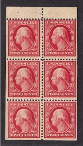 332a Mint,OG,LH... Booklet Pane... SCV $135.00